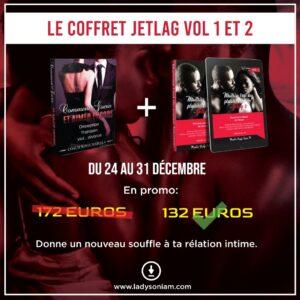 L'art du plaisir féminin : JetLag Coffret